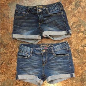 Arizona Jean Company Shorts - 2 pair shorts